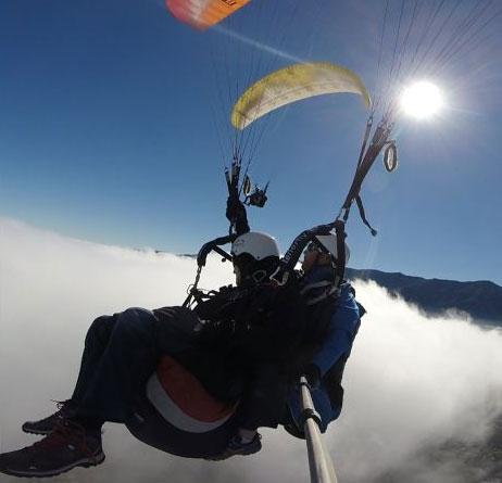 Condiciones climáticas que Tenerife Top Paragliding toma en cuenta para el vuelo